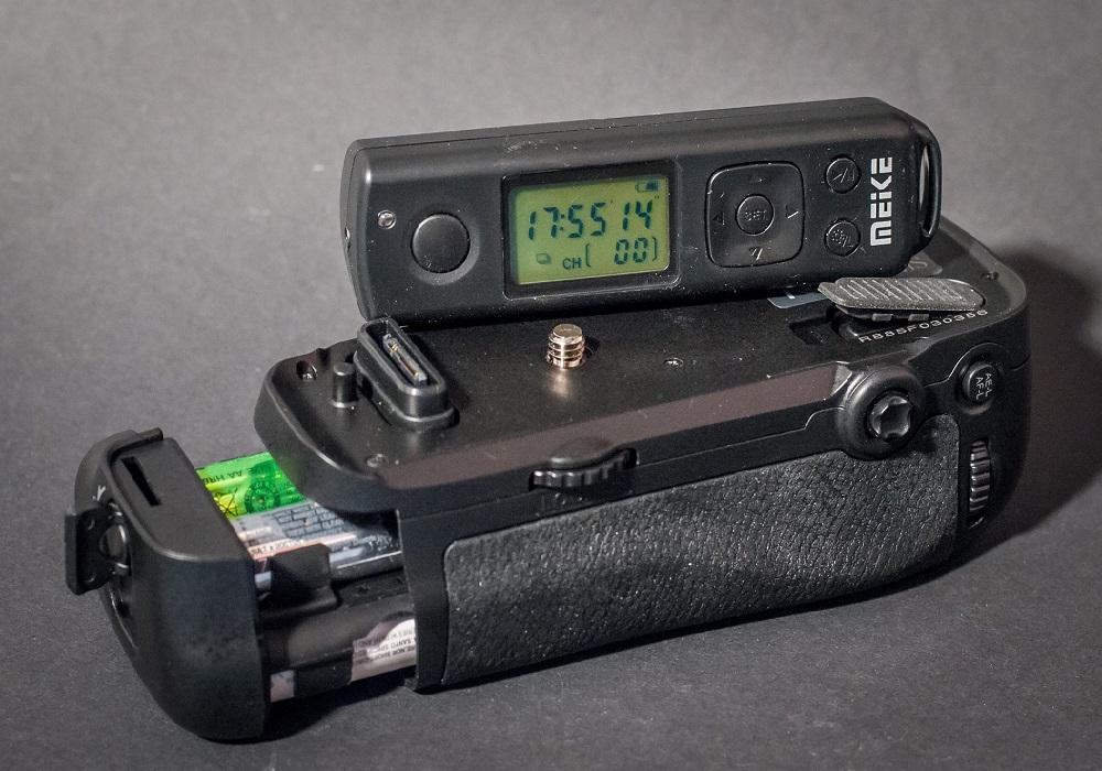 Test Kameragriff MK DR750