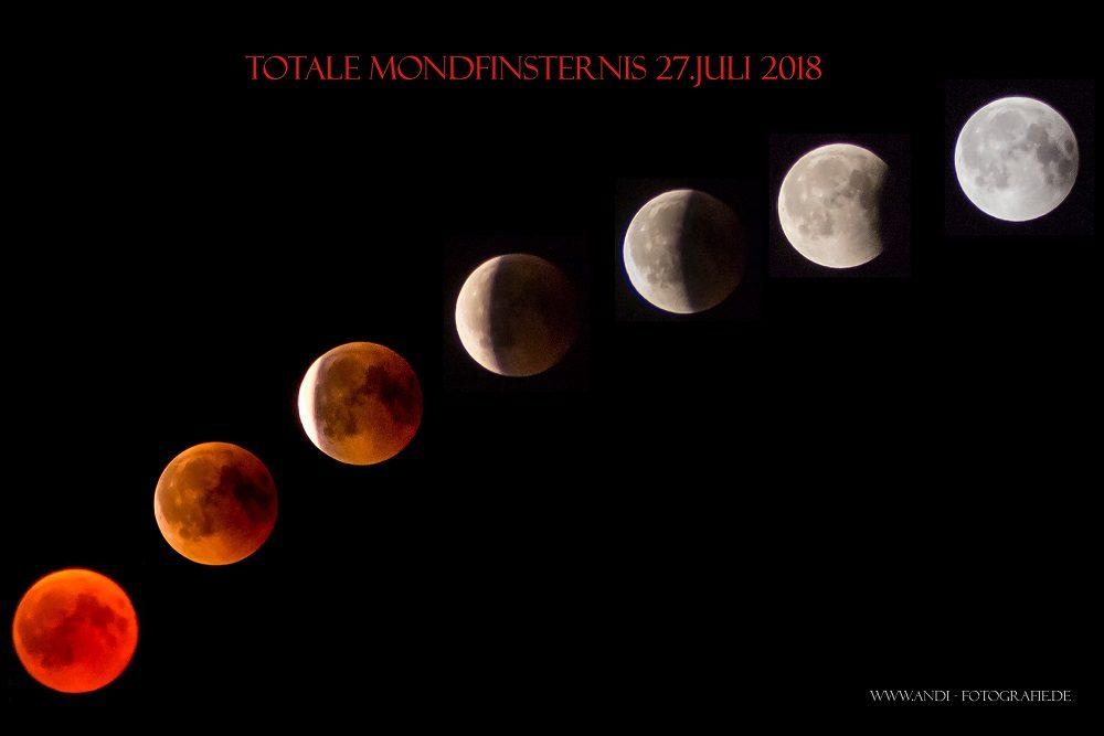 Mondfinsternis Juli 2018