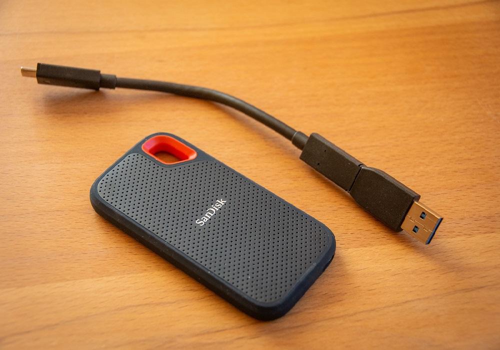 Die Sandisk SSD 500 GB