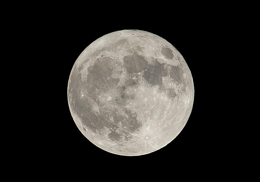 Mondphasencollage